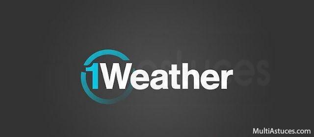 Meilleures applications météo gratuites