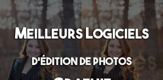 Meilleurs logiciels d'édition de photos gratuit