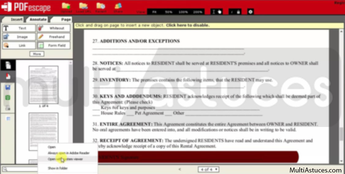 Meilleurs éditeurs PDF gratuits