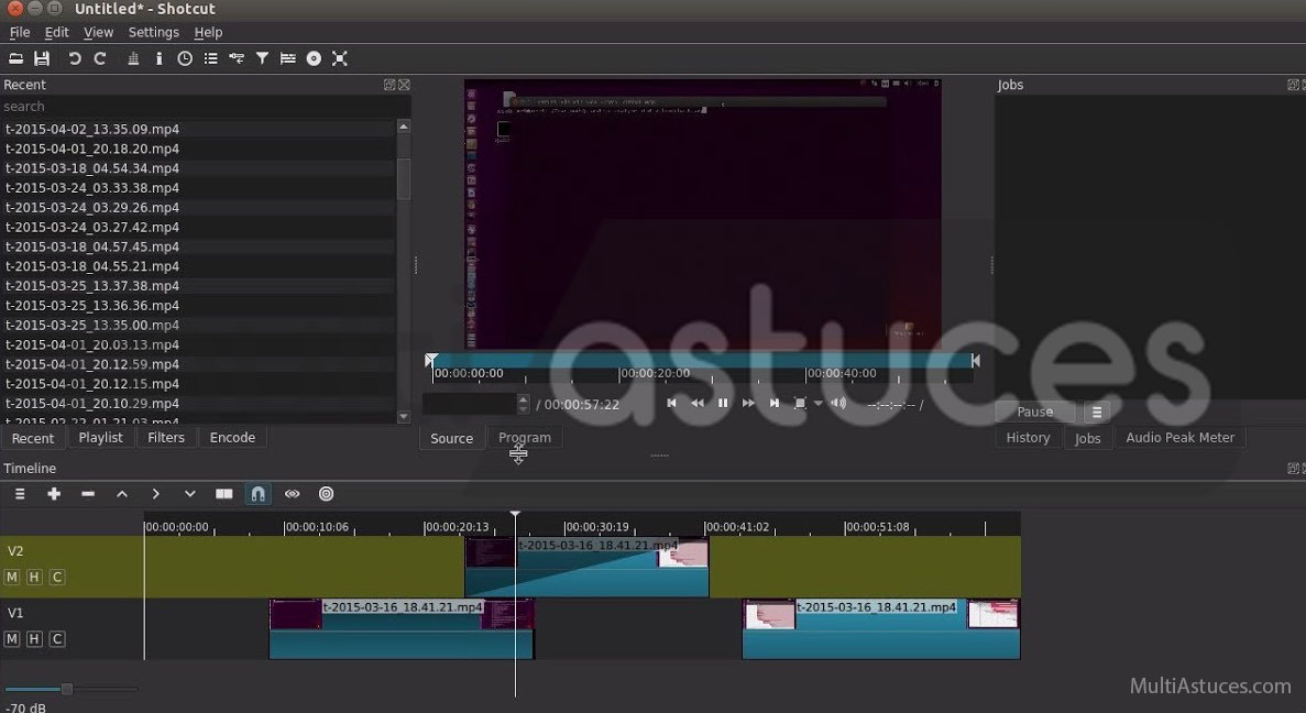 meilleurs logiciels d'édition vidéo gratuits