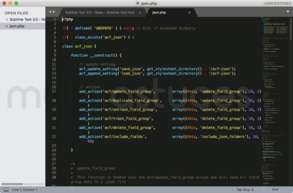 Alternatives à Notepad ++ pour MAC