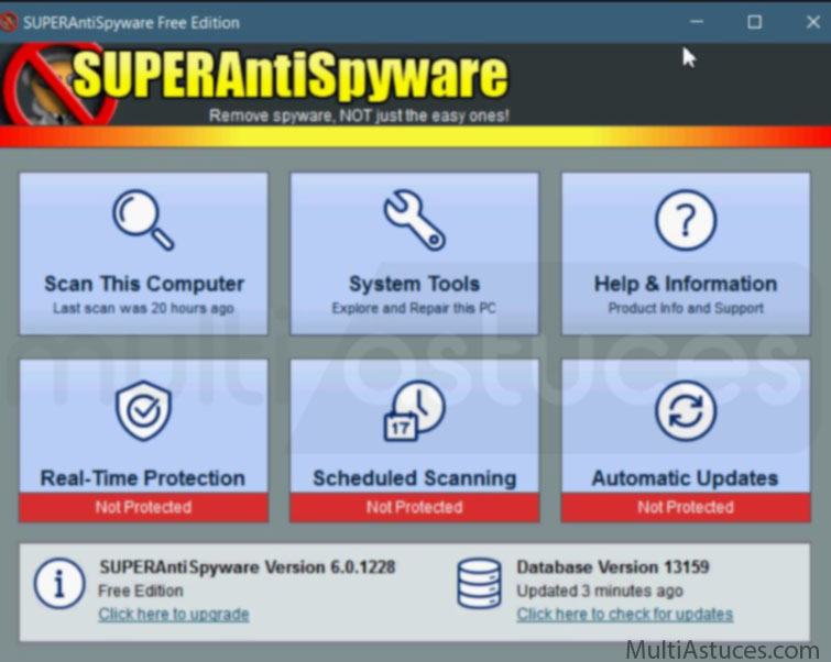 Meilleurs outils gratuits de suppression de logiciels malveillants