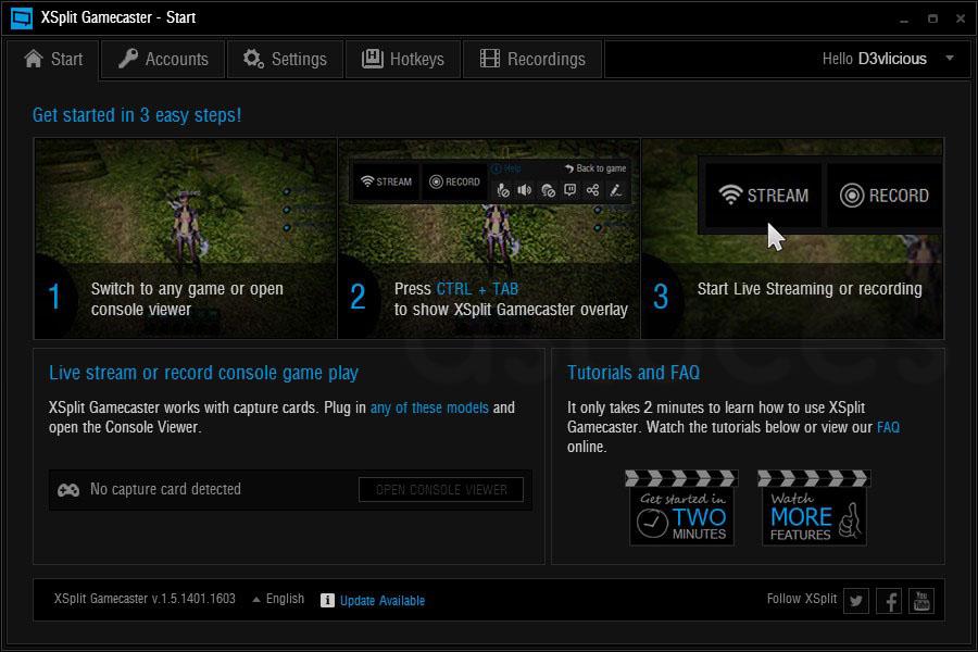 logiciels d'enregistrement de jeux