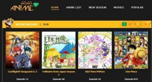 sites de streaming Anime pour regarder Anime en ligne