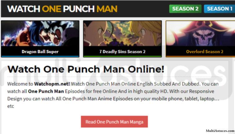 lire One Punch Man