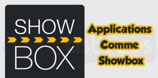 applications comme Showbox