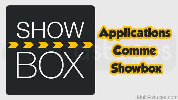 applications comme Showbox