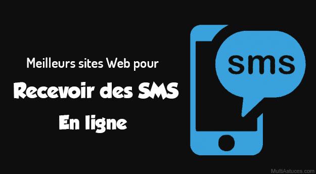 recevoir des SMS en ligne