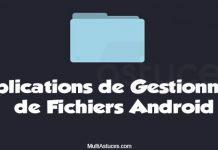 applications de gestionnaire de fichiers Android