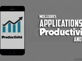 applications de productivité Android