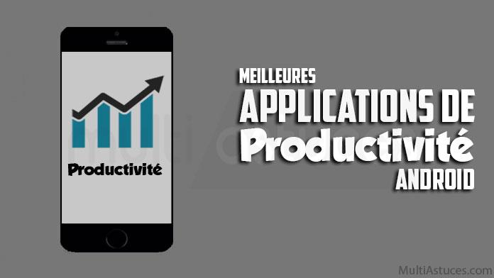 applications de productivité Android