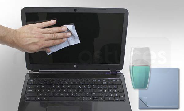 nettoyer un écran d'ordinateur portable