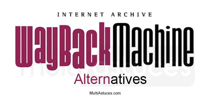 alternatifs de la Wayback machine