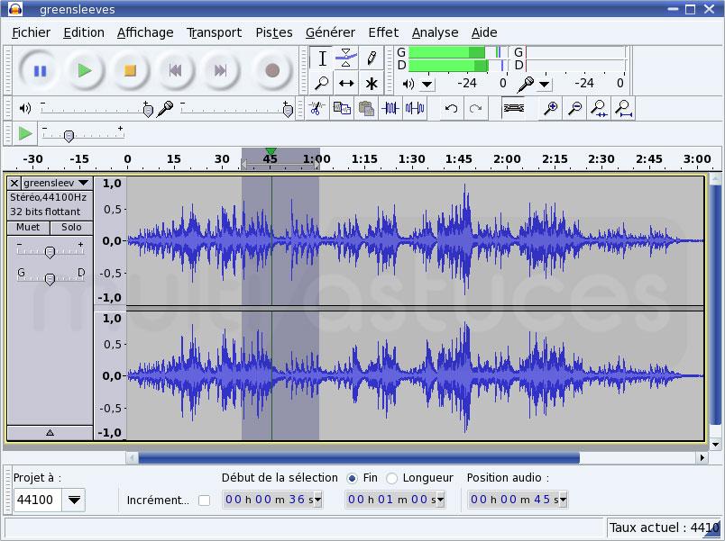 logiciels d'édition audio