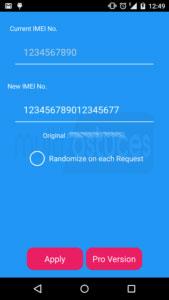 changer le numéro IMEI Android