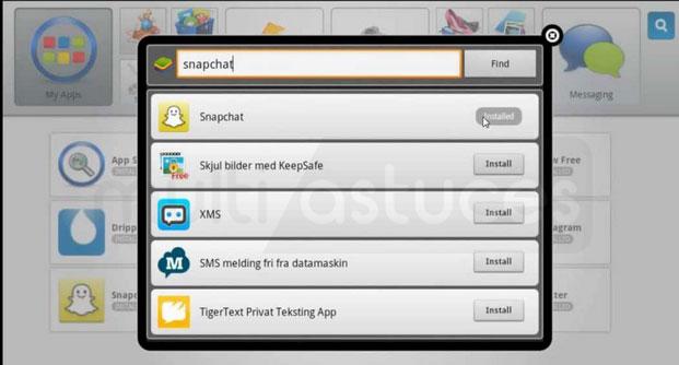 SnapChat pour PC