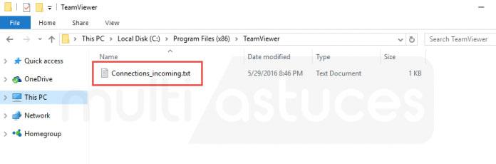 Comment savoir si mon TeamViewer piraté