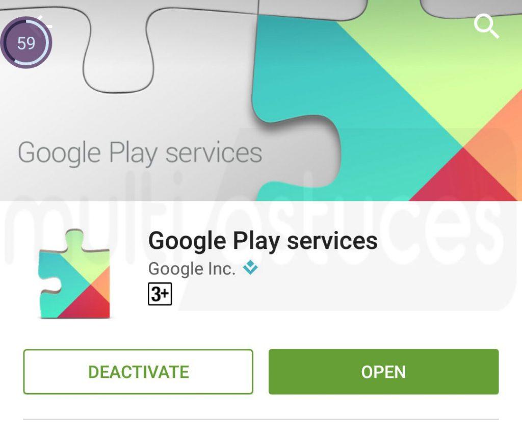 vidage de la batterie des services Google Play