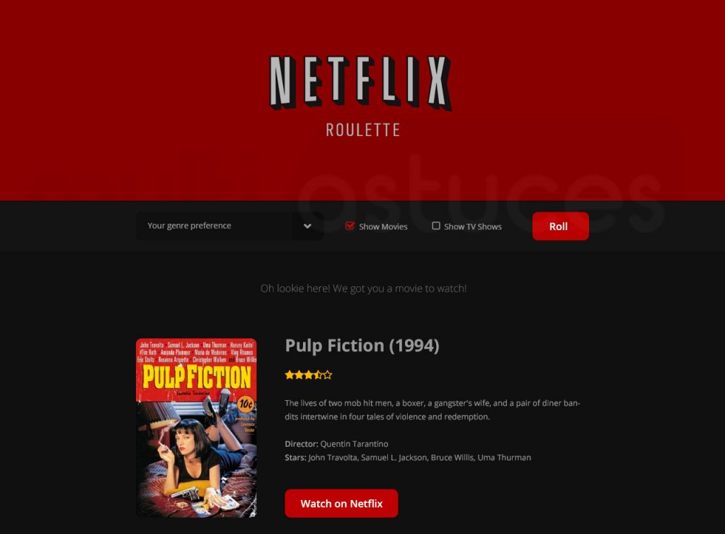 roulette Netflix