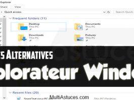 alternatives à l'Explorateur Windows