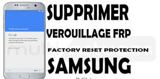 contourner le compte Samsung