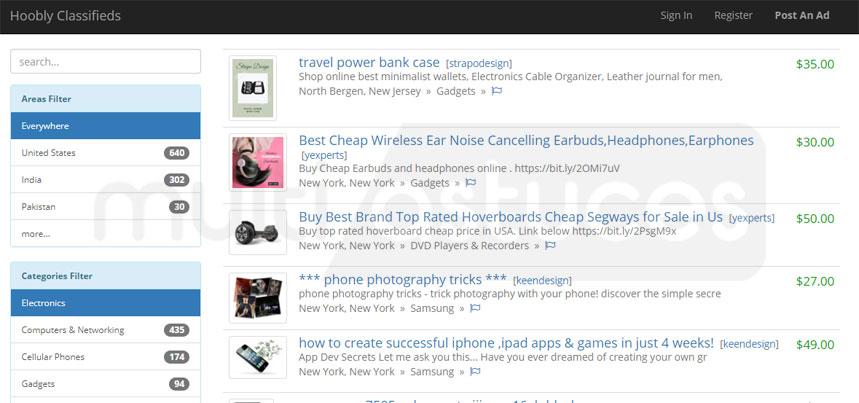 Meilleurs sites comme Craigslist