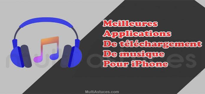 applications de téléchargement de musique pour iPhone