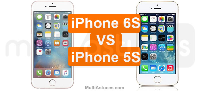 iPhone 5s vs iPhone 6s