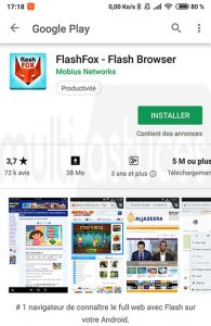 Adobe Flash pour Android