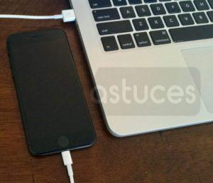 activer l'iPhone sans carte SIM