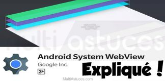 Webview du système Android