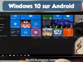 Windows 10 sur Android