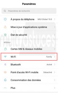 Récupération de mot de passe WiFi sans racine