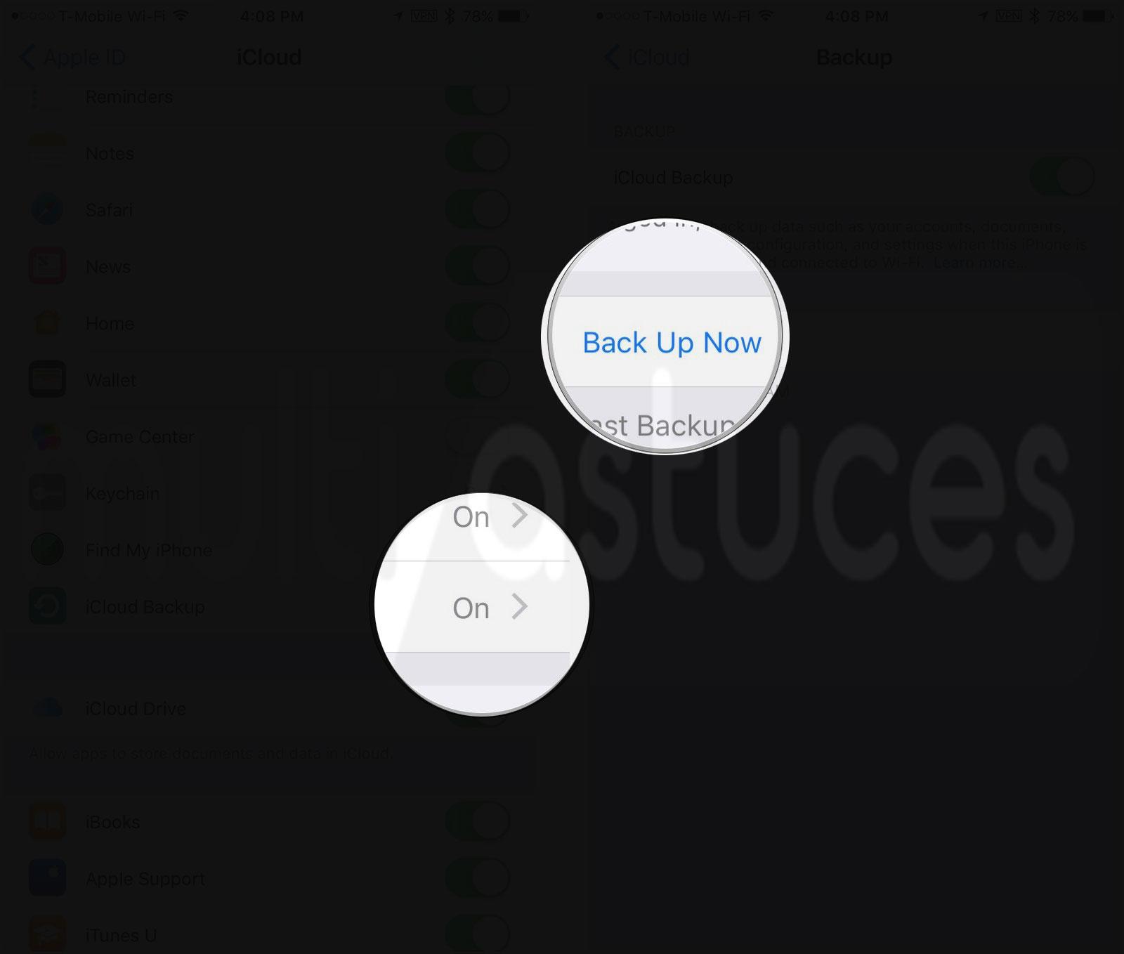 réinitialiser votre iPhone 7