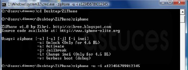 Comment changer le numéro IMEI sur iPhone sans jailbreak