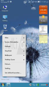 Windows 7 pour Android