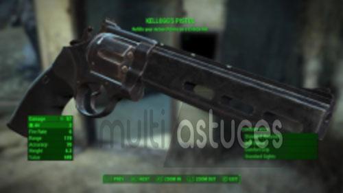 meilleures armes Fallout 4