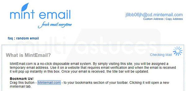 meilleurs générateurs de faux emails