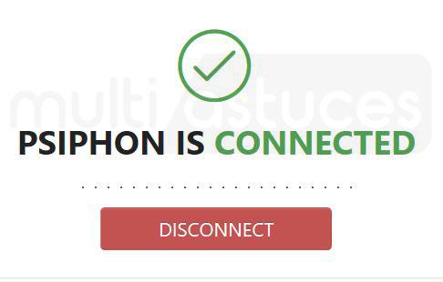 Psiphon 3 pour PC