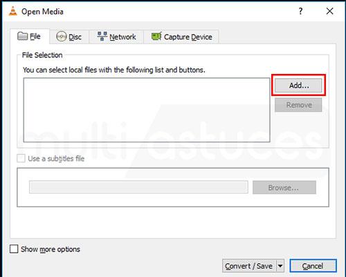 convertir un fichier SWF en MP4