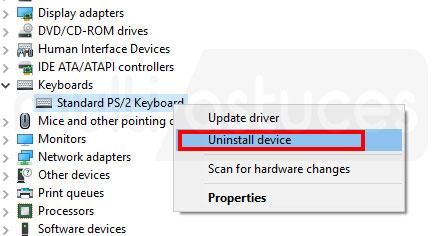 Comment désactiver le clavier d'ordinateur portable