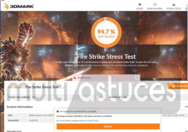 stress du processeur
