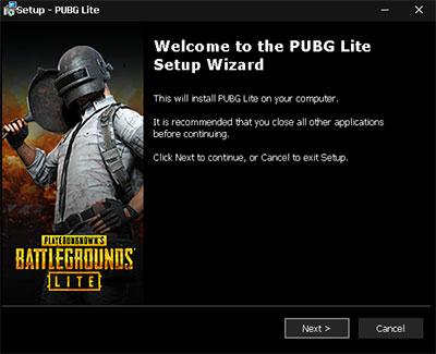 PUBG Lite sur PC