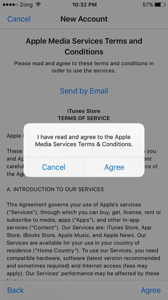identifiant Apple sans carte de crédit