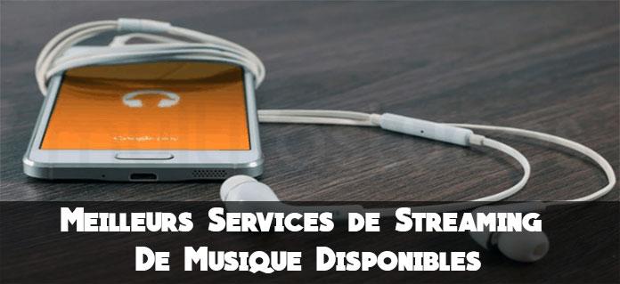 services de streaming de musique