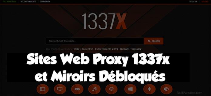 Sites Web proxy 1337x