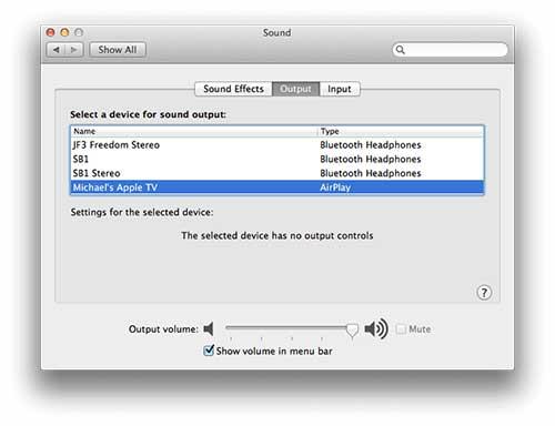 Spotify sur Apple TV
