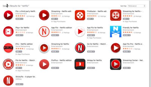 Netflix pour Mac