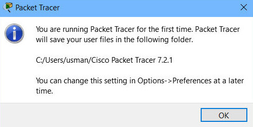 Cisco Packet Tracer 7.2.1