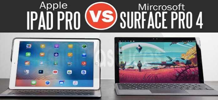 iPad Pro vs Surface Pro 4